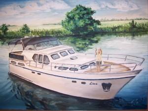 belgische Yacht
